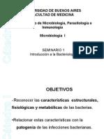 Seminario 1 Introducción a la Bacteriología