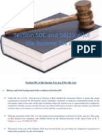 Section 50C and 56(2)(vii)of the Income Tax Act.ppt