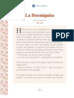 LA HORMIGUITA - LECTURA SUGUERIDA PRIEMRO BÁSICO
