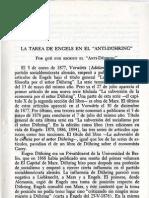 Sacristán, Manuel - La tarea de Engels en el AntiDühring