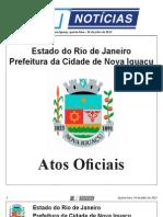 diario oficial de nova iguaçu 24 de julho de 2013.