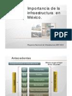 Importancia Infraestructura en Mexico
