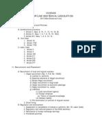Labor Law and Social Legislation_2013 Syllabus