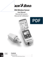 Rain Bird WR2 Wireless Sensor Manual