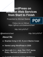 AWS WordCamp Presentation