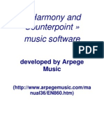 Harmony and Counterpoint Music Software