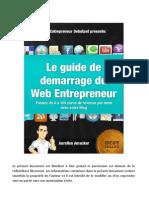 Guide Demarrage Web Entrepreneur