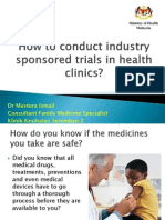 How to Conduct Industry Sponsored Trials_Dr Mastura