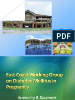 East Coast Working Group on Diabetes in Pregnancy