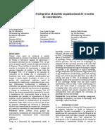 Tecnologias Web 2.0 integradas al modelo organizacional de creación de conocimiento - Sisoft 2010