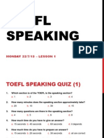 Toefl speaking template toefl speaking intro pronofoot35fo Images