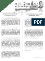 No. 10. Año 2013. Domingo XVII Y XVIII. Tiempo Ordinario. Ciclo C