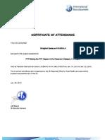 MyMPYPH Certificate
