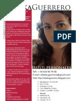 Rebeka Guerrero CV Completo