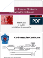 Angiotensin Receptor Blockers in Different Clinical Settings