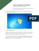 15 Dicas Para Melhorar o Desempenho Do Windows 7