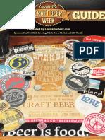 2012 Louisville Craft Beer Week Guide