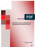Estrategias Desarrollo Habilidades Ciencias Sociales