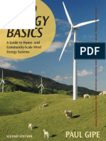 Wind Energy Basics, by Paul Gipe (Book Preview)