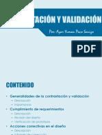 CONTRASTACIÓN Y VALIDACIÓN