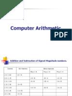 CH-5 - Computer Arithmetic