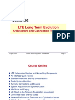 LTE System Structure and Signalling