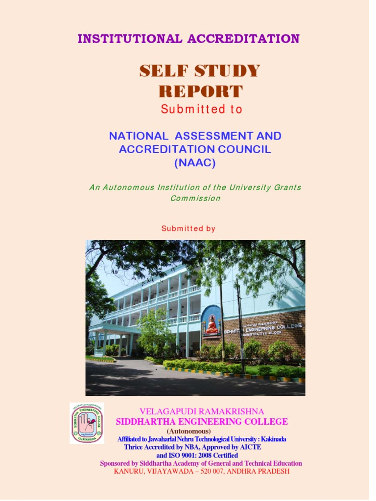 naac ssr of the vrsec1 pdf curriculum iso 9000