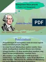 Manajemen PSI 05 Analisis Biaya PRoyek