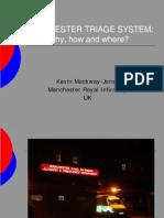 Manchester Triage System Presentation
