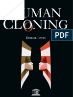 Ethical issues in Cloning.