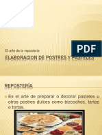 Elaboracion de Postres y Pasteles[1]