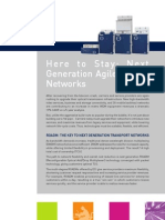 Here to Stay - Next Generation Agile Optical Networks