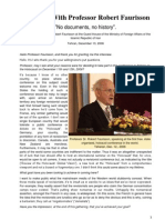 Interview With Professor Robert Faurisson-tehranDecember132006