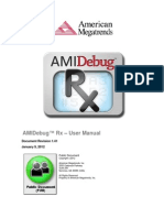 AMI Debug Rx User Manual PUB