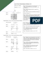Alg 1 Sem 2 Practice Final Solutions