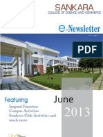 E-Newsletter, June-2013