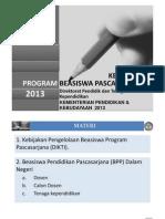 Sosialisasi Beasiswa BPPDN DIKTI 2013(Final)