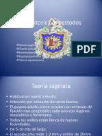 Parasitosis Por Cestodos