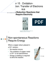 15.5 Oxidation Reduction Reactions That Require Electricity