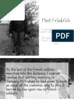 Friedrich's Story