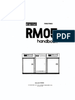 CDC 300MB Disk drive RM05 Handbook and Alignment