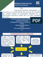 Diapositivas de Tesis Cuantitativa - Modelo