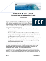 ENGLANDER REPORT - Sea Level Rise and Coastal Property 062610 Red