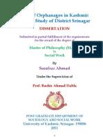 m Phil Dissert of Sarafraz Ahmad