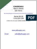GE FANUC 90-30 manual