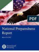National Preparedness Report 2012 v2