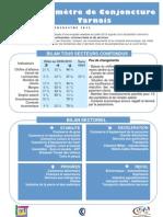 Baromètre de conjoncture tarnais - N°28 - T2 2013