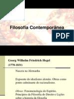 Filosofia Contemporânea II