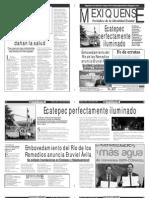 Versión impresa del periódico El mexiquense  30 julio 2013