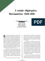 hacia el estado oligárquico 1820-1850